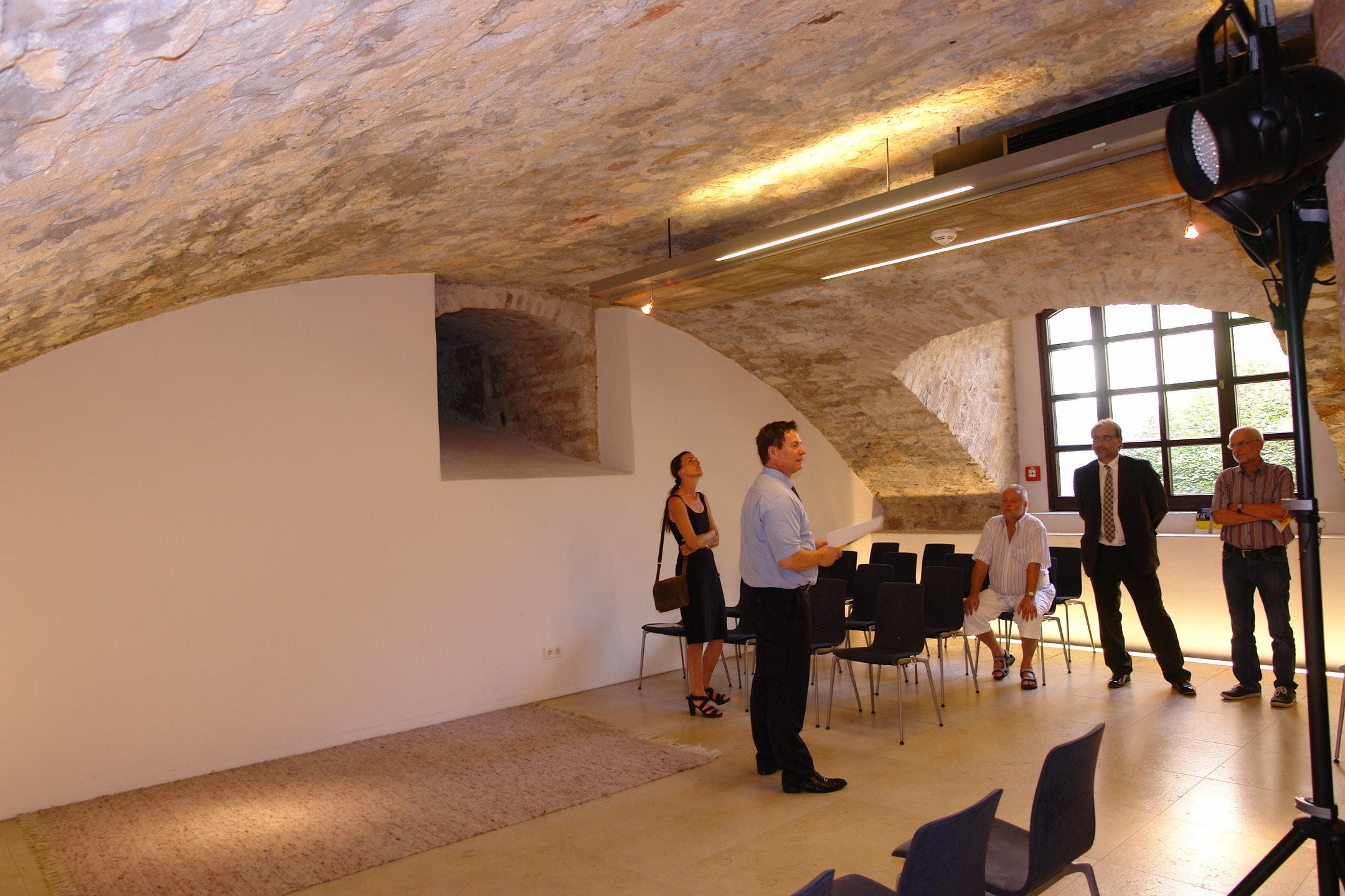 Gewölbekeller gestalten  Neumarktaktuell - Neue Veranstaltungsreihe vorgestellt | 16.09.2016