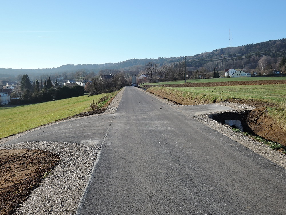 Wegebauprojekt
